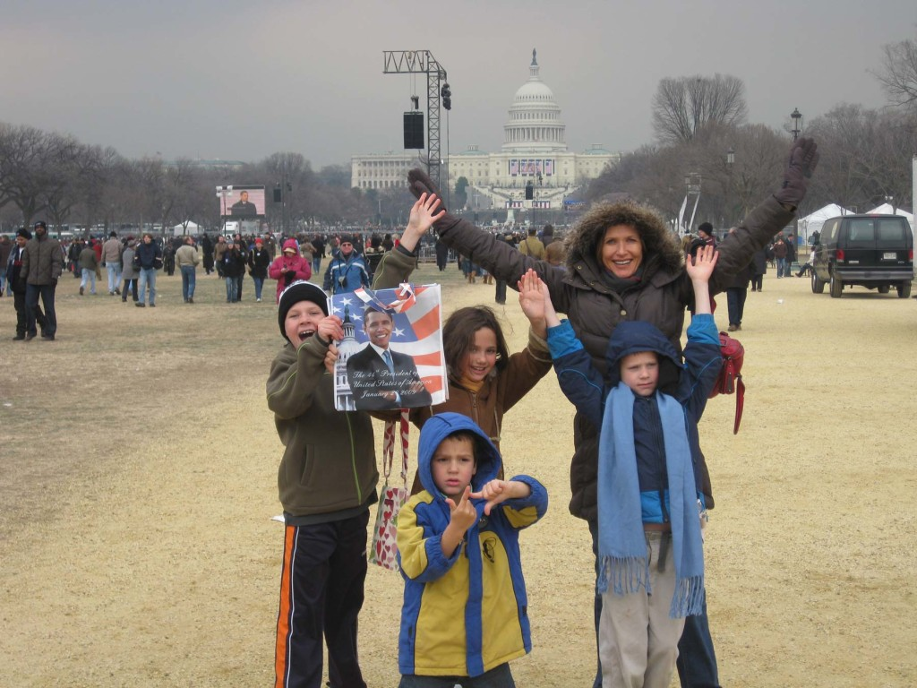Inauguration Day…yes, I was there!