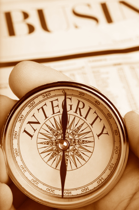 Where could you be upping your integrity?