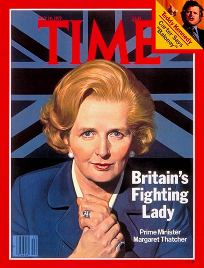 Margaret Thatcher – An icon of Courage