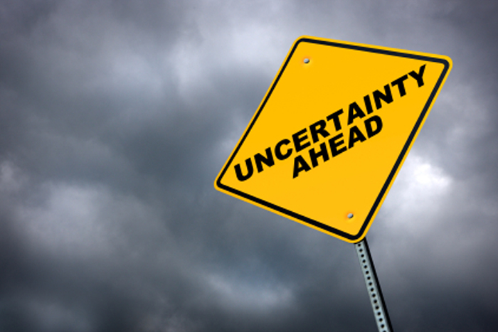 Embrace uncertainty. It lines your path to security.