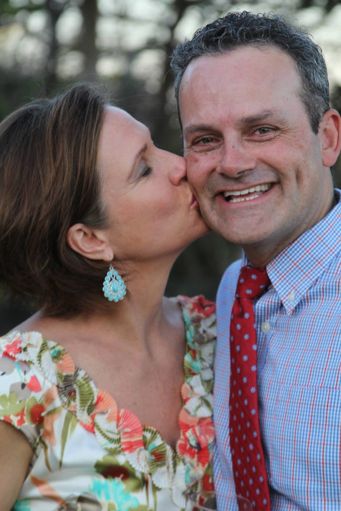 Twenty years married. Keepin' love alive over the long haul!