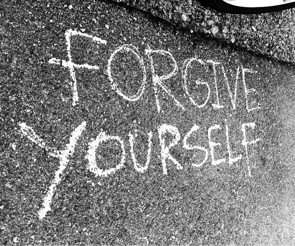 Forgive Yourself. It's Cheaper Than Therapy.