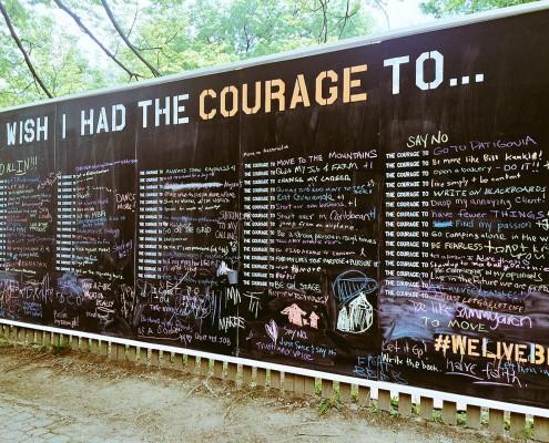 courage wall virginia