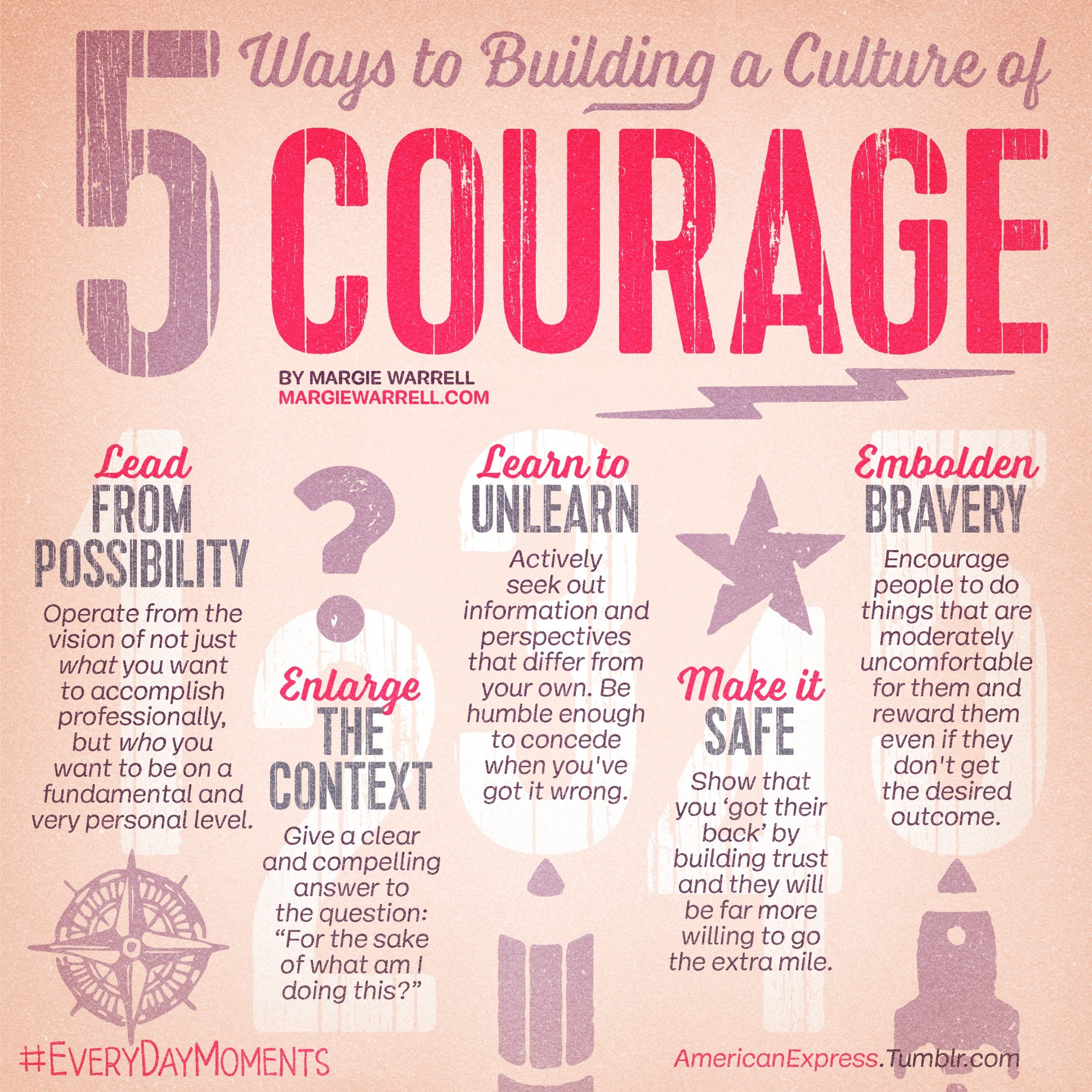 culture of courage creating a culture that breeds bravery  culture of courage creating a culture that breeds bravery margie warrell