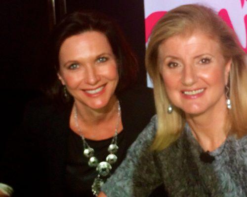 Entrepreneur extraordinaire, Arianna Huffington