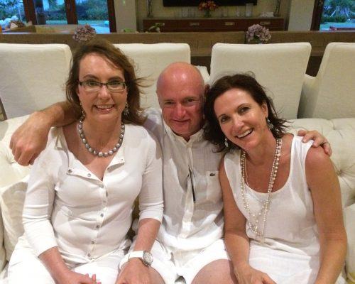 The very brave Gabby Giffords & Mark Kelly