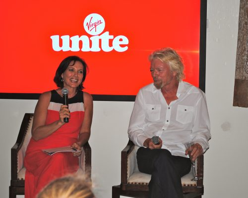 Interviewing Sir Richard Branson on Necker Island