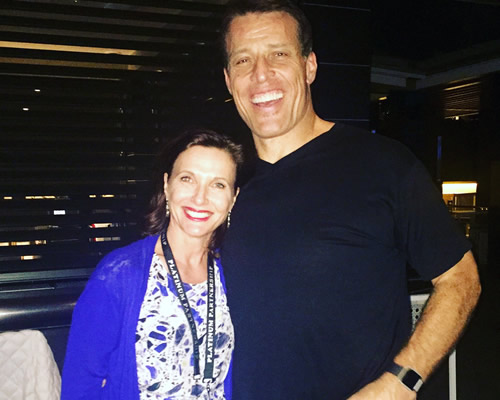 The one and only Tony Robbins
