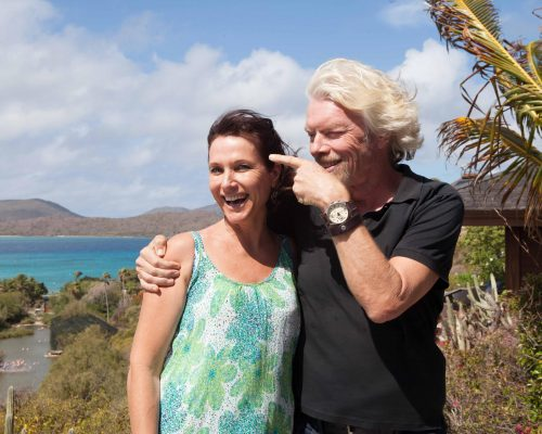 Richard Branson poking fun of me!