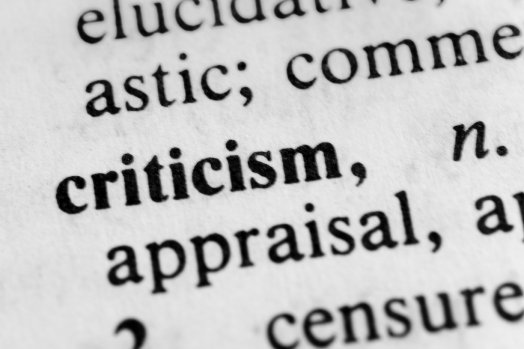 Handle Criticism Better