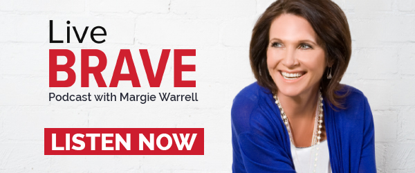 Live Brave Podcast with Margie Warrell