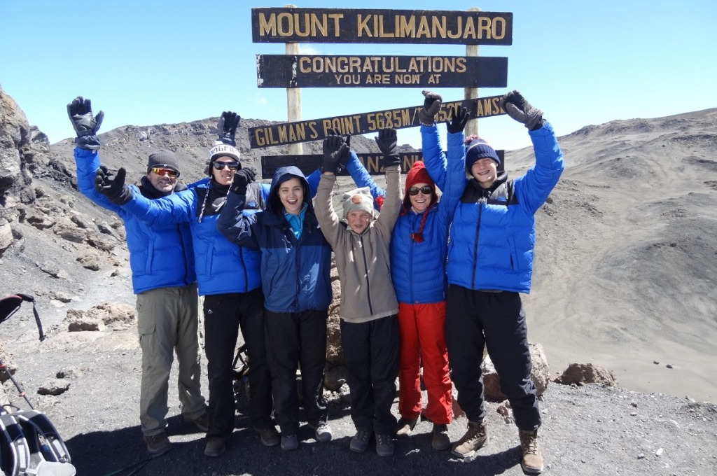 Just take the next step: Lessons from climbing Kilimanjaro with my four kids